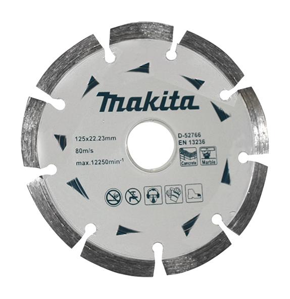Disco de diamante segmentado 125mm 125-22.23-7 D-52766