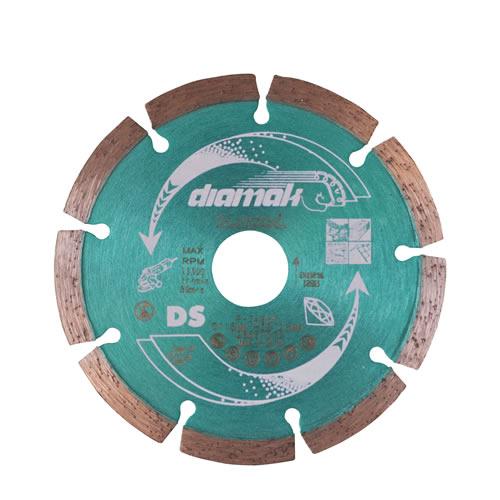 Disco de diamante Diamak segmentado 115-22.23-7s D-61123