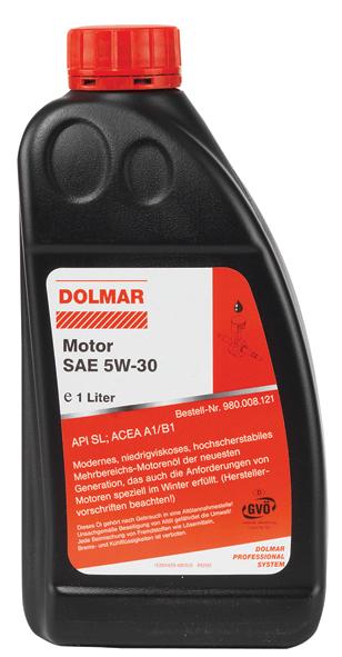 ÓLEO MOTOR 1L. 5W-30 DOLMAR 980008121