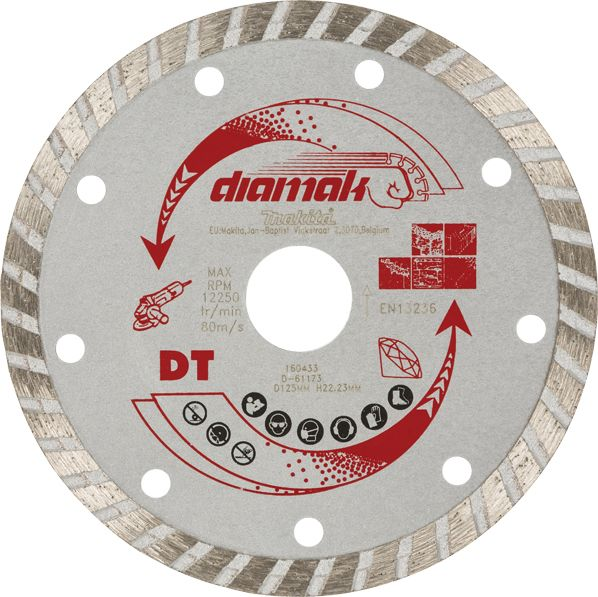 Disco de diamante Diamak turbo 230x22,23x7 D-61173